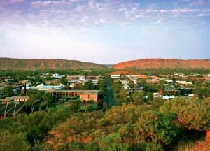 Alice Springs, il cuore dell'Outback australiano.