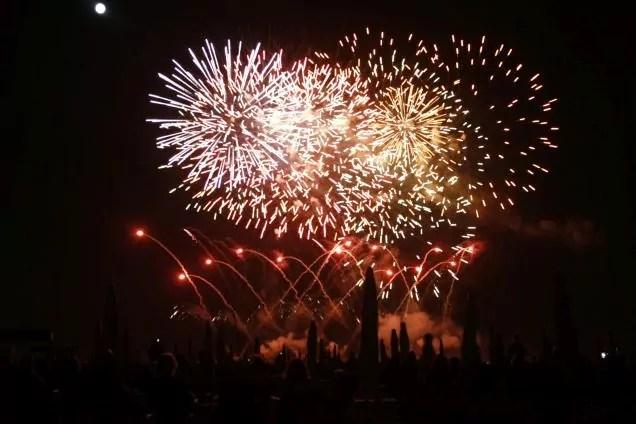 Sant'Ermete Forte dei marmi fuochi d'artificio