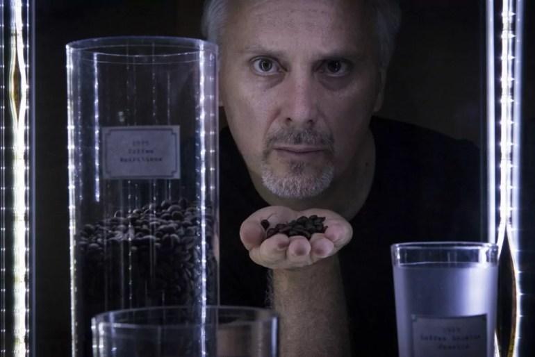 """Cristiano Bortone, regista del film """"Caffè"""""""