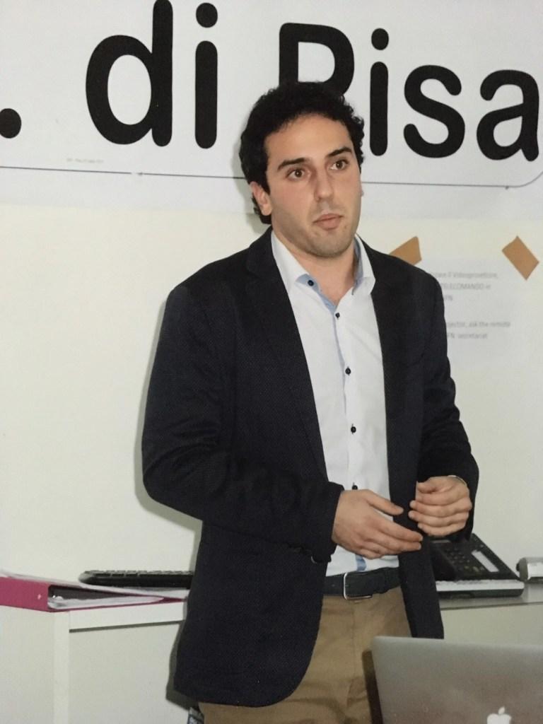 Andrea Ottomaniello, autore della tesi sul grafene