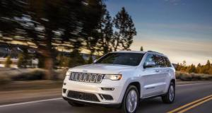 Jeep Grand Cherokee Trailhawk Suv dell'anno 2017