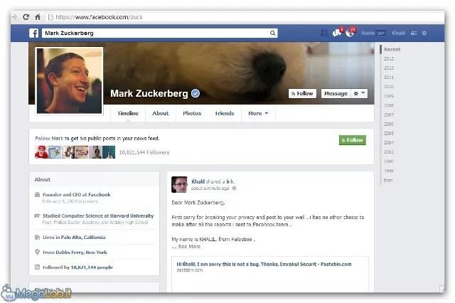 Bacheca Facebook sentenza Cassazine Diffamazione