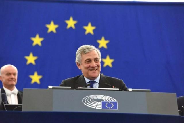 Antonio Tajani è stato eletto presidente del Parlamento europeo al quarto turno di ballottaggio il 17 gennaio 2017 (ph. Parlamento europeo).