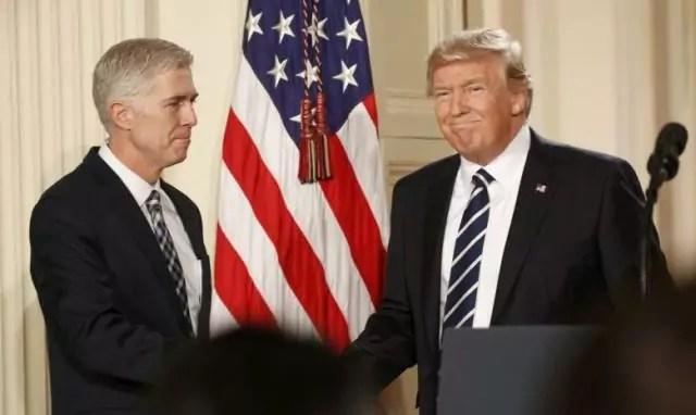 corte suprema Trump giudice gorsuch