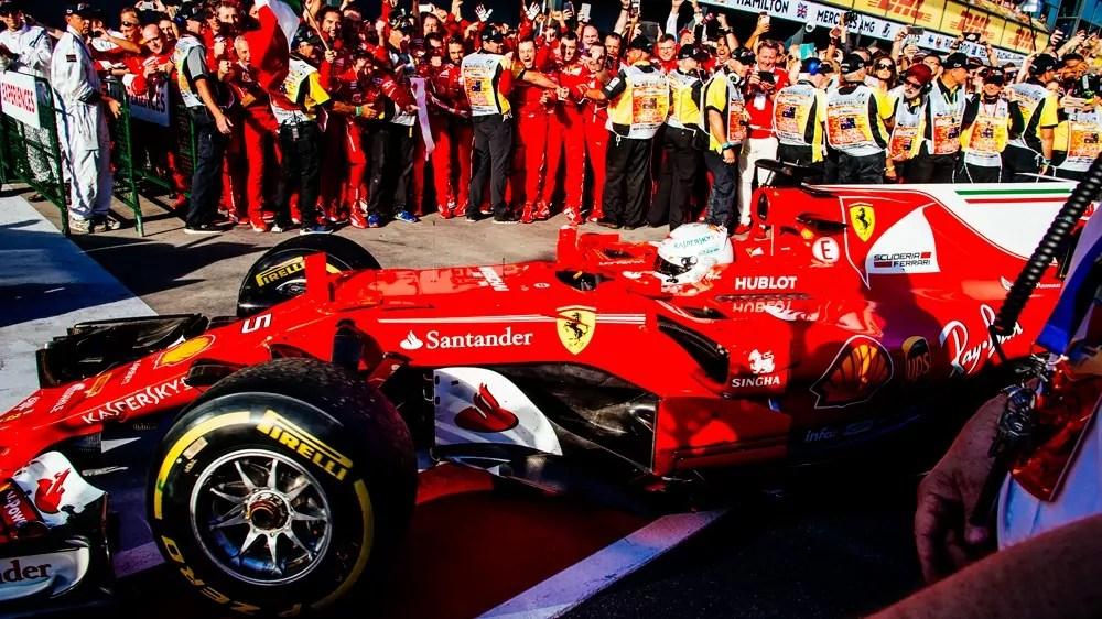 Ferrari Vettel Australia