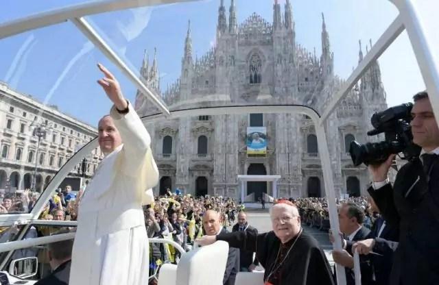Papa visita pastorale a Milano e Monza