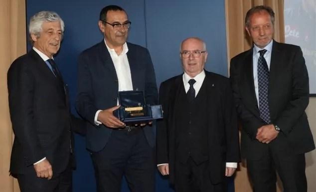 Maurizio Sarri Panchina d'oro