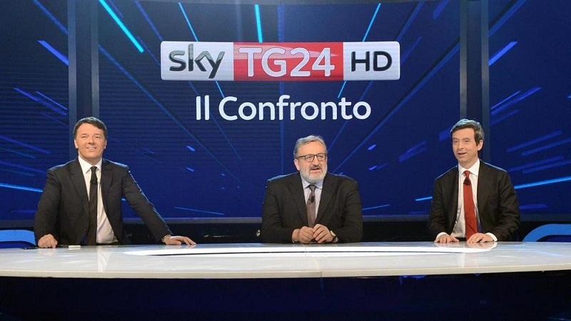 Renzi, Emiliano e Orlando: i tre candidati alle Primarie del Pd che al confronto su Sky parevano i tre complici - sconfitti - dell'ultima catastrofe politica italiana.