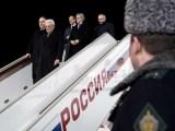L'arrivo del Presidente della Repubblica Mattarella a Mosca (ph. Quirinale).