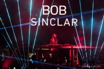 """Bob Sinclar alla consolle del """"main stage"""" , foto Lento FrancescoPaolo"""