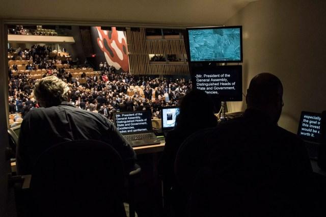 L'assemblea generale 2017 dell'Onu, a New York (ph. Un / Kim Haughton).