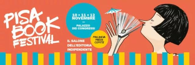 Banner del Pisa Book Festival 2017