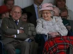 La regina Elisabetta II (91 anni) e il marito, il duca di Edimburgo (96), celebrano oggi i loro 70 anni di matrimonio il 20 novembre 2017 (ph. Euronews).