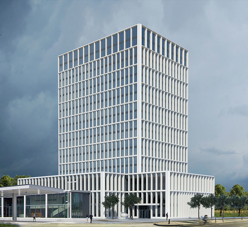 La sede offerta dal governo olandese per l'Ema: il centro per uffici Vivaldi ad Amsterdam.