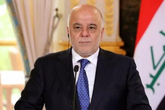 Iraq, il primo ministro Haider Al - Abadi.