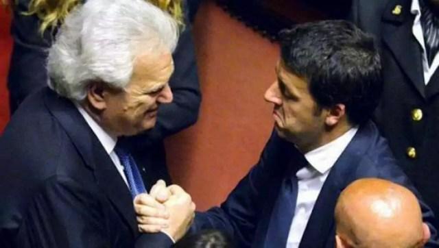 Denisw Verdini e Matteo Renzi