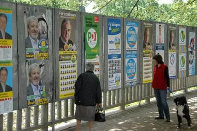 sconcezze elettorali manifesti