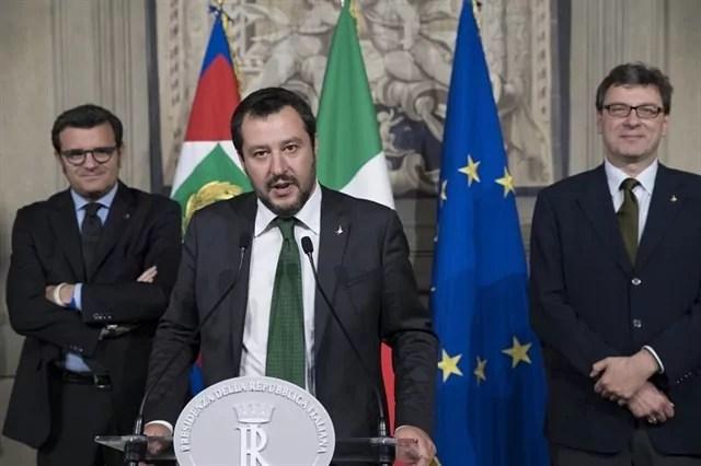 La dichiarazione alla stampa della delegazione della Lega dopo le consultazioni con il Presidente della Repubblica sulla formazione del nuovo governo il 21 maggio 2018.