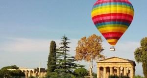 Paestum festival delle mongolfiere
