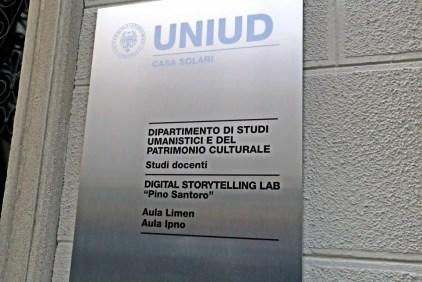 Università di Udine, il Digital Storytelling Lab.