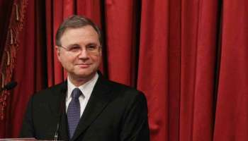 Ignazio Visco governatore della Banca d'Italia.