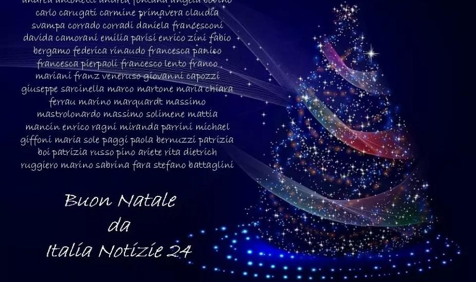 Buon Natale Tutti.Buon Natale A Tutti Da Italia Notizie 24 Italia Notizie 24