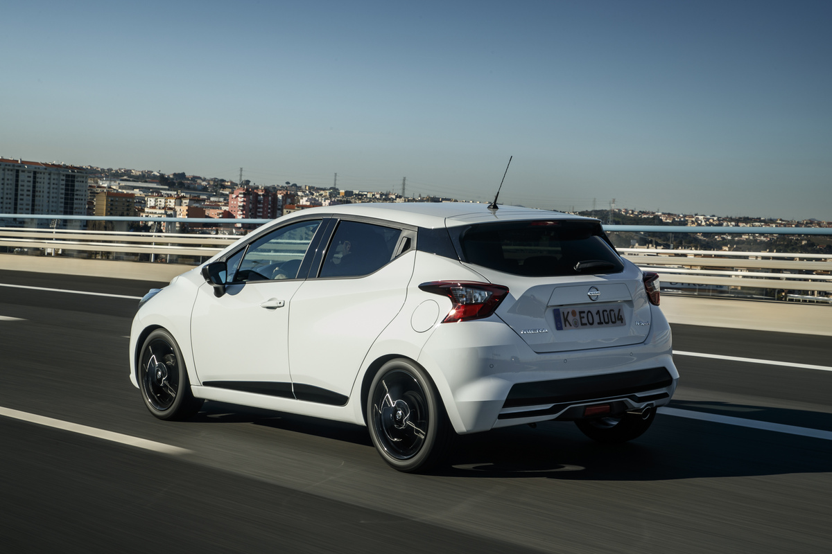 La Nissan Micra N-Sport.