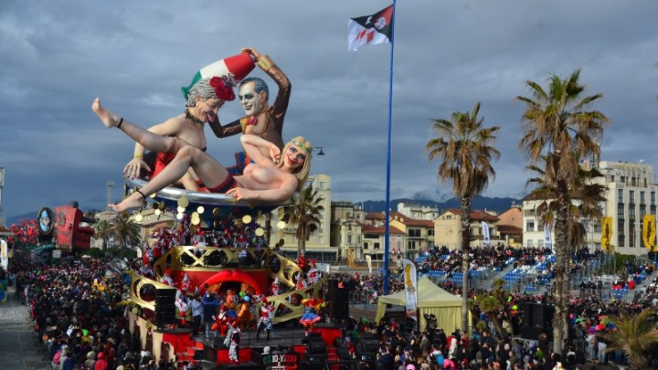 Il Carnevale di Viareggio.