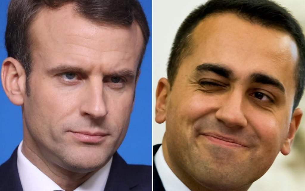 Macron Di Maio