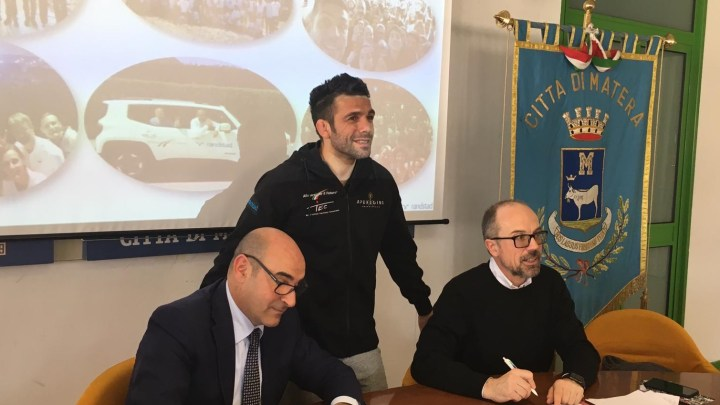 Matera, la firma del protocollo tra Regione Basilicata e Bosch per l'avvio del progetto di formazione e alternanza Allenarsi per il futuro.