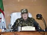 Algeria, il ministro della Difesa Gaid Salah (ph. Aps).