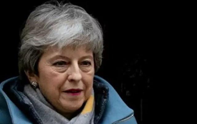 Theresa May, la premier britannica alle prese con la sua Mision impossible: trovare l'accordo per la Brexit (ph. AFP):