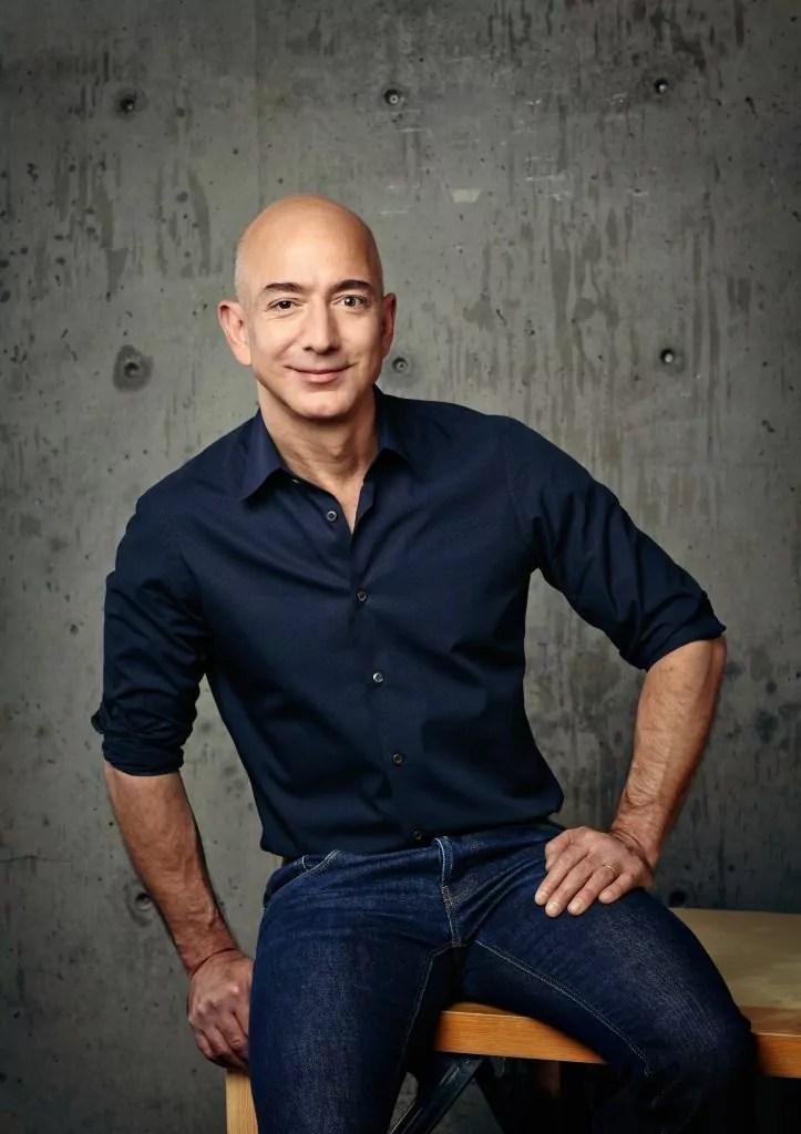 Jeff Bezos, fondatore e Ceo di Amazon.