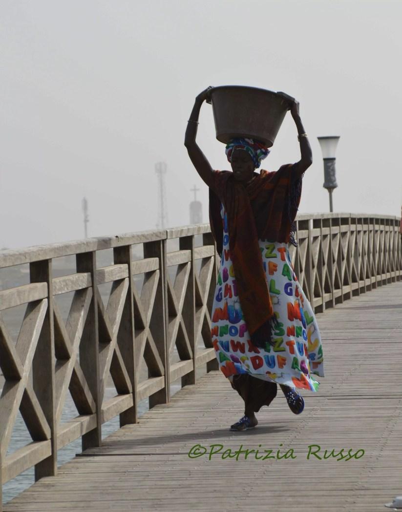 Senegal, ponte di legno a Isola Fadiouth (Ph. P.Russo/IT24).