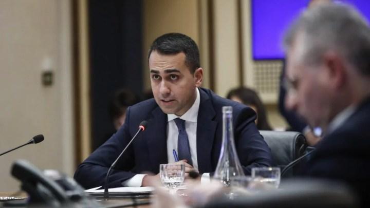 Il ministro degli Esteri Luigi Di Maio (ph. Mae)