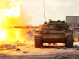 Libia, tuppe del LNA - Libian National Army all'attacco di Bengasi (ph. AMN).