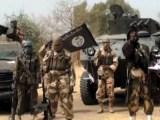I terroristi di Boko Haram, il gruppo jihadista che punta a creare un feudo intorno al Lago Ciad (ph. AFR).