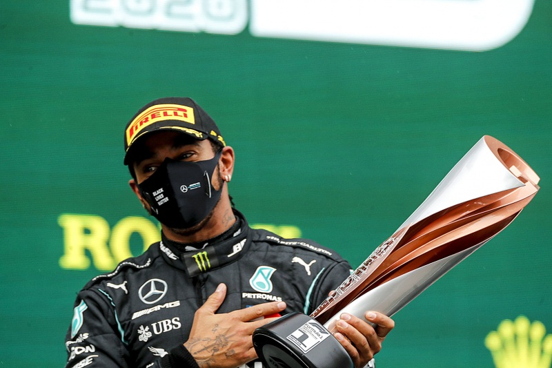 Lewis Hamilton vince il GP Turchia F1 2020 (Ph. LAT Images).