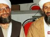 Il leader di Al Qaida Osama Bin Laden e il suo braccio destro e successore Ayman Al Zawahiri (ph. Runaway).