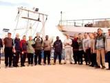 I pescatori di Mazara del Vallo arrestati in Libia (ph. Ansa).