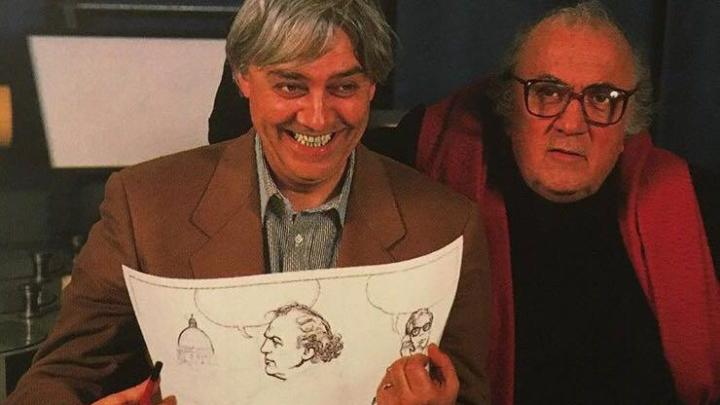 Milo Manara e Federico Fellini