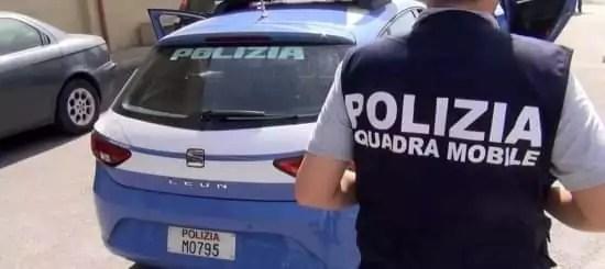 Operazione antidroga della Polizia