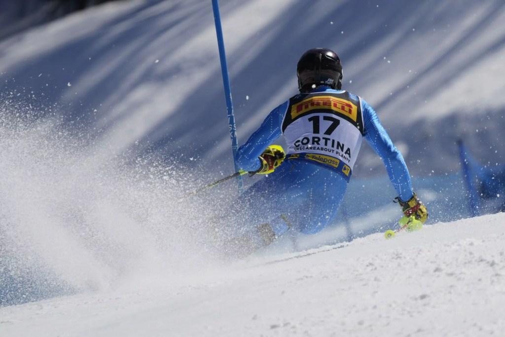 Cortina 2021 Campionati mondiali di sci alpino. Alex Vinatzer (Italia). Cortina d'Ampezzo 21/02/2021 Photo: Pentaphoto Gio Auletta | © Copyright /Michela Andreola.