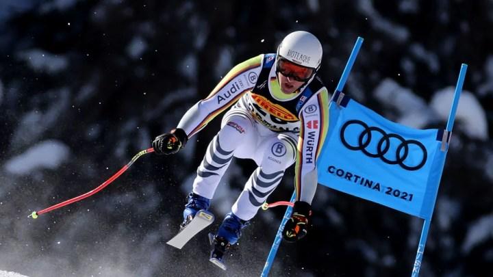 Cortina 2021 Alpine Ski World Championships. Romed Baumann (GER) argento in superg Cortina d'Ampezzo 11/02/2021 (Photo: Pentaphoto Marco Trovati).