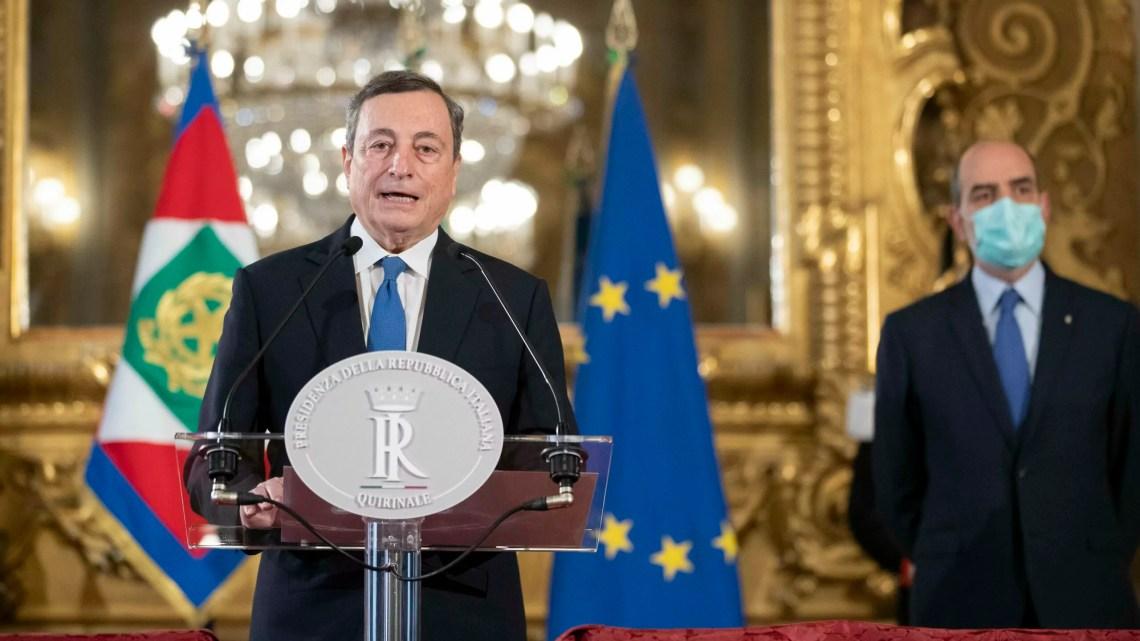 Draghi consultazioni