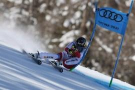 Cortina 2021 Campionati mondiali di sci alpino. Cortina d'Ampezzo 11/02/2021 Super G femminile - Lara Gut (SUI) Foto: Pentaphoto Marco Trovati   © Copyright / 21