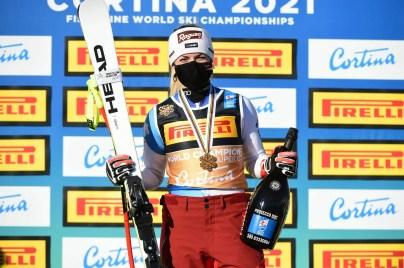 Cortina 2021 Mondiali di sci alpino. Cortina d'Ampezzo 11/02/2021 Lara Gut Behrami (SUI) Foto: Pier Marco Tacca / Pentaphoto   © Copyright / 21