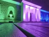 Malattie rare Parco archeologico di Pompei partecipa alla Giornata Mondiale delle Malattie Rare, con illuminazione a coloridella facciata dell'Antiquarium.