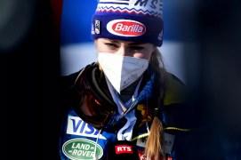Cortina 2021 Mondiali di sci alpino. Cortina d'Ampezzo 11/02/2021 Mikaela Shiffrin (USA) Foto: Pier Marco Tacca / Pentaphoto | © Copyright / 21