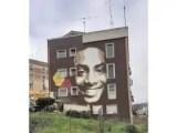 Colleferro, inaugurato il murale di Lucamaleonte per Willy Monteiro Duarte, voluto da Regione Lazio, Ater Provincia di Roma e Fondazione Roma Cares della AS Roma.